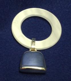 2005 Round Teething Ring Rattle