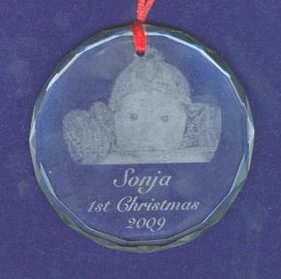 9061 Fantasy Christmas Ornament
