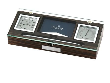 B2572 Clock & Temp by Bulova