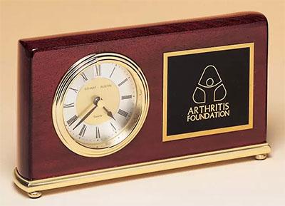 BC48 Rosewood Desk Clock