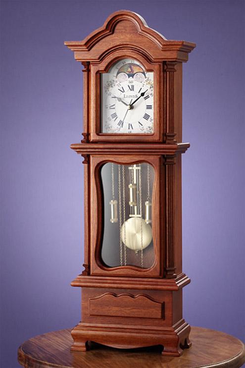 Grandfather Clock Engraving