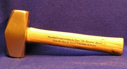 Hammer Engraved