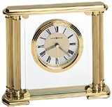 Glass Tabletop Clock Engraving