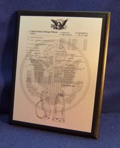 Patent Plaque Metal Photo