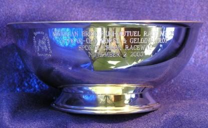 Revere Bowl engraved